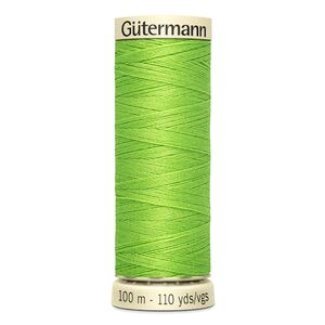 Gutermann Sew-all Thread 100m Colour 336 LIME GREEN, 100% Polyester