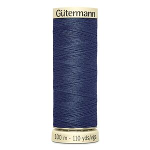 Gutermann Sew-all Thread 100m Colour 593 DARK STEEL BLUE, 100% Polyester