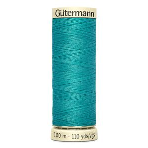 Gutermann Sew-all Thread 100m Colour 763 TURQUOISE, 100% Polyester