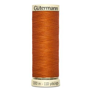 Gutermann Sew-all Thread 100m Colour 932 DARK ORANGE, 100% Polyester