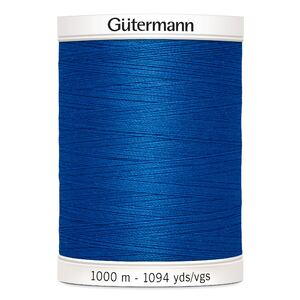Gutermann Sew-all Thread #322 ROYAL BLUE, 1000m M292 100% Polyester Sewing Thread