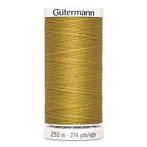 Gutermann Sew-all Thread 250m Colour 968 GOLD, 100% Polyester