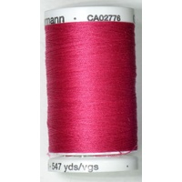 Gutermann Sew-all Thread 500m Colour 382, CANDY RED, 100% Polyester Thread