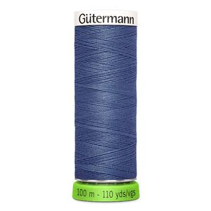 Gutermann Sew-All Thread rPET 100% Recycled Polyester, 100m Spool, Col. 112 PETROL BLUE