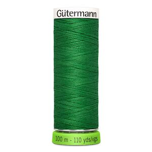 Gutermann Sew-All Thread rPET 100% Recycled Polyester, 100m Spool, Col. 396 MID GREEN