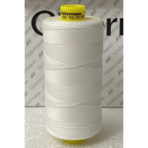 Gutermann MARA, 35 Micro Core Technology Thread 400m, WHITE (#800)