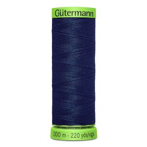 Gutermann Extra Fine Thread # 11 NAVY BLUE, 200m Spool 100% Polyester