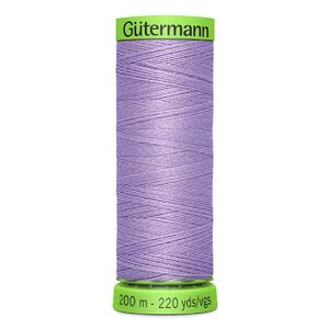 Gutermann Extra Fine Thread # 158 LAVENDER, 200m Spool 100% Polyester