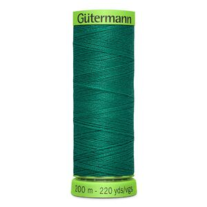 Gutermann Extra Fine Thread # 167 DARK SEAFOAM GREEN, 200m Spool 100% Polyester