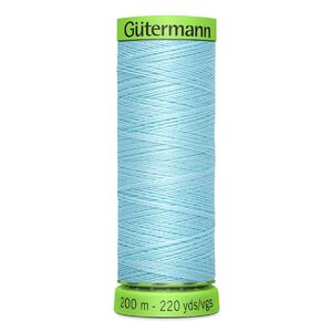 Gutermann Extra Fine Thread # 195 PALE BLUE, 200m Spool 100% Polyester