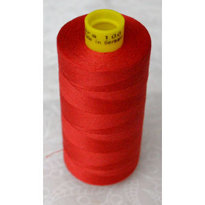 Gutermann MARA 100, Micro Core Technology Thread 1000m, Colour 156 RED