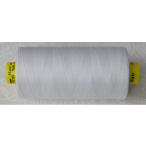 Gutermann MARA 100 Micro Core Thread 1000m, Apparel, Textiles etc, WHITE