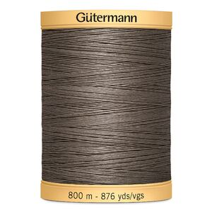 Gutermann Cotton Thread, Colour 1225 Brown, 800m Jumbo Spool