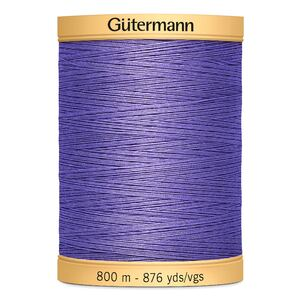 Gutermann Cotton Thread, 800m (876yds) #4434 Purple Grape
