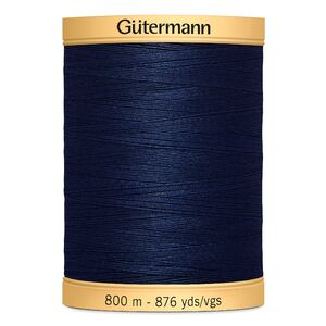 Gutermann Cotton Thread, #5322 Navy Blue, 800m (876yds)