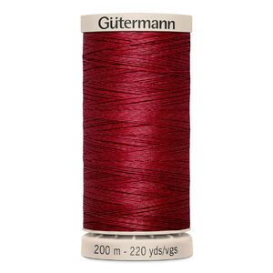 Gutermann Waxed Cotton Quilting Thread 200m Colour 2453