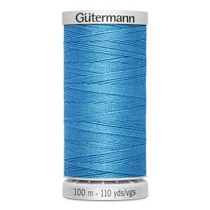 Gutermann Extra Strong Polyester Thread, #197 LIGHT BLUE, M782, 100m Spool