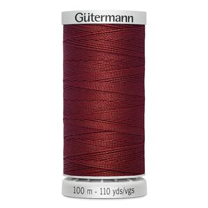 Gutermann Extra Strong Thread Colour 221 REDDISH BROWN, 100m Spool