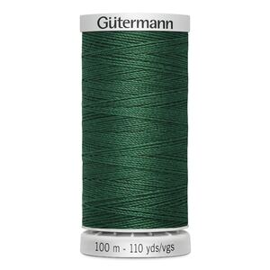 Gutermann Extra Strong Thread Colour 340 DARK GREEN, 100m Spool