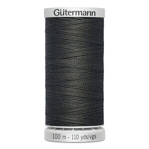 Gutermann Extra Strong Thread Colour 36 CHARCOAL GREY, 100m Spool