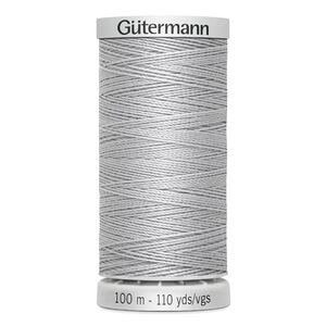 Gutermann Extra Strong Polyester Thread, #38 LIGHT GREY, 100m Spool