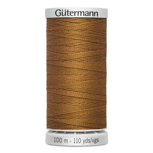 Gutermann Extra Strong Polyester Thread, Colour 448 LIGHT BROWN, 100m Spool