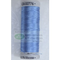 Gutermann SULKY Rayon 30, #1028 BABY BLUE, 150m Machine Embroidery Thread