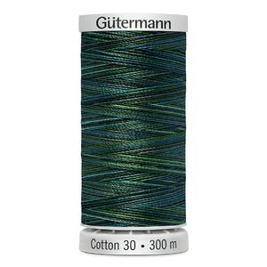 Gutermann Sulky Cotton 30, Colour 4021 VARIEGATED, 300m Embroidery, Quilting Thread