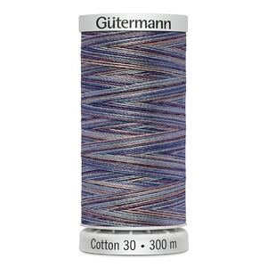 Gutermann Sulky Cotton 30, #4031 VARIEGATED MULTI 300m Embroidery, Quilting Thread