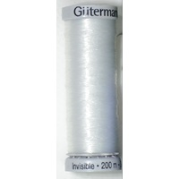 Gutermann Invisible Thread, 200m (220 yards) #1001 CLEAR