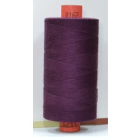 Rasant 120 Thread, 1000m, Colour 0162 VERY DARK GRAPE