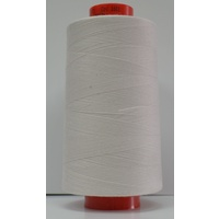 Rasant 120 Thread 5000m Cone, Cotton Covered Polyester Core, PEARL GREY, #1601