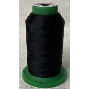 ISACORD 40, #0021 BLACK, 1000m Machine Embroidery, Sewing Thread
