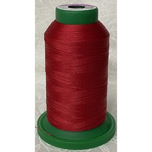 ISACORD 40, #1900 GERANIUM, 1000m Machine Embroidery, Sewing Thread