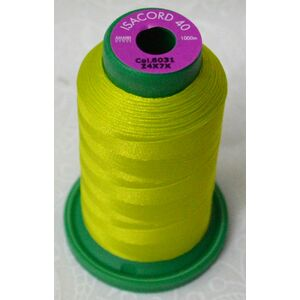 ISACORD 40, Machine Embroidery Thread, Colour 6031, 1000m, 100% Polyester