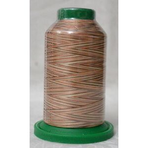 ISACORD 40, Machine Embroidery Thread 1000m Colour 9302 Varigated BARK