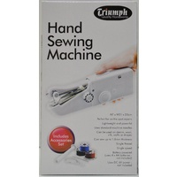Triumph Hand Sewing Machine With Accessory Set, Perfect for On The Spot Repairs