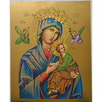 "OUR LADY OF PERPETUAL HELP Religious Print, 10"" x 8"" (200mm x 250mm)"