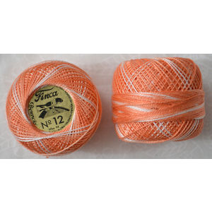 Presencia Finca Perle 12 Egyptian Cotton, 5 Gram, 9175 Shaded Coral