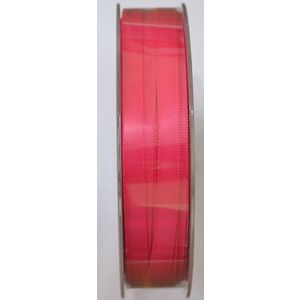 Uni-Ribbon Double Sided Satin Ribbon, 6mm, 19 SHOCKING PINK, Full 40 Metre Roll
