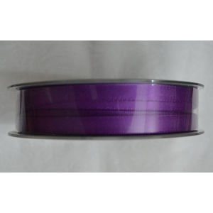 Uni-Ribbon Double Sided Satin Ribbon, 6mm, 25 Ultra Violet, Full 40 Metre Roll