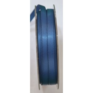 Uni-Ribbon Double Sided Satin Ribbon, 6mm, 46 NAVY BLUE, Full 40 Metre Roll