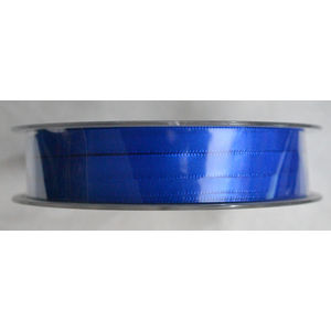 Uni-Ribbon Double Sided Satin Ribbon, 6mm, 47 ELECTRIC BLUE, Full 40 Metre Roll