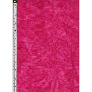 Batik Australia Tonal Batiks RASPBERRY, Hand Made, 110cm Wide Tone on Tone