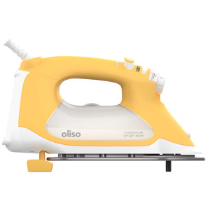 Oliso Pro Smart Iron TG1100 Yellow For Sewers, Quilters & Crafters