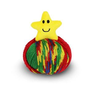 DMC Top This, 80g Ball of Continuous Texture Yarn, Child's Hat Pattern, STAR Topper
