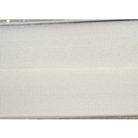 High Density Non-Roll Elastic 25mm White, 100% Polyester, Per Metre PP