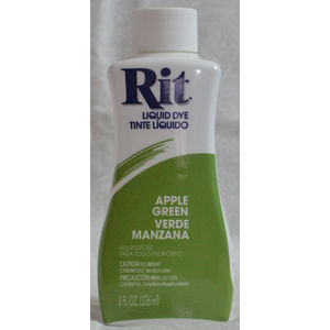 RIT All Purpose Liquid Fabric Dye 236ml (8 FL OZ) APPLE GREEN