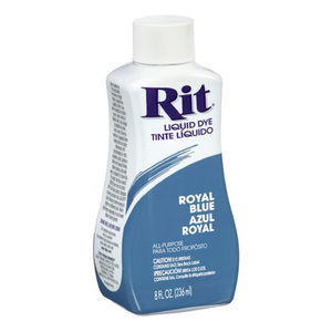 RIT All Purpose Liquid Fabric Dye 236ml (8 FL OZ) ROYAL BLUE