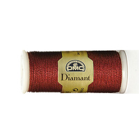 DMC Diamant Thread, #D321 RED RUBY, 35m Hand Embroidery Thread